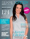 Katarzyna Glinka on the cover of Sekret Urody (Poland) - January 2012