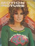 Raquel Welch on the cover of Motion Picture (United States) - September 1975
