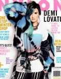 Demi Lovato on the cover of Nylon (United States) - January 2014