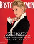 Julie Bowen on the cover of Boston Common (United States) - December 2012