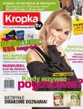 Agnieszka Popielewicz on the cover of Kropka TV (Poland) - June 2011