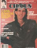 Ric Ocasek on the cover of Circus (United States) - November 1980