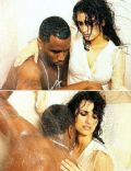 Sean Combs and Penélope Cruz