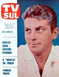 Carlos Zara on the cover of TV Sul (Brazil) - October 1967