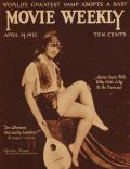 Dorothy Knapp on the cover of Movie Weekly (United Kingdom) - April 1923