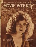 Jacqueline Logan on the cover of Movie Weekly (United Kingdom) - May 1923