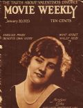Margaret Leahy on the cover of Movie Weekly (United Kingdom) - January 1923