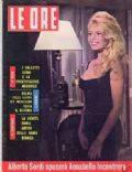 Brigitte Bardot on the cover of Le Ore (Italy) - February 1962