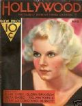Jean Harlow on the cover of Hollywood (United States) - March 1932