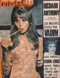 Britt Ekland on the cover of Fotogramas (Argentina) - July 1967