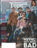 Chris Kirkpatrick, JC Chasez, Joey Fatone, Justin Timberlake, Lance Bass on the cover of Teen People (United States) - October 2001