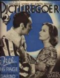 Katherine DeMille on the cover of Picturegoer (United Kingdom) - September 1934
