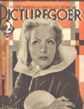 Greta Garbo on the cover of Picturegoer (United Kingdom) - July 1934