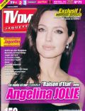 Angelina Jolie on the cover of TV Dvd Jaquettes (France) - January 2009