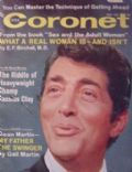 Dean Martin on the cover of Coronet (United States) - May 1967