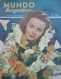 Jeanne Crain on the cover of Mundo Argentino (Argentina) - September 1948