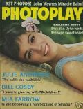 Julie Andrews on the cover of Photoplay (United States) - June 1966