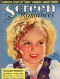 Shirley Temple on the cover of Screen Romances (United States) - November 1937
