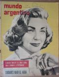 Lauren Bacall on the cover of Mundo Argentino (Argentina) - April 1959