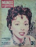 Rita Moreno on the cover of Mundo Argentino (Argentina) - October 1968