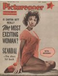 Rita Moreno on the cover of Picturegoer (United States) - February 1956