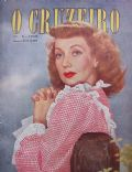 Ann Sothern on the cover of O Cruzeiro (Brazil) - May 1950