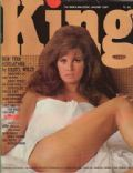 Raquel Welch on the cover of King (United Kingdom) - January 1967