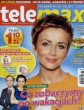 Katarzyna Zielinska on the cover of Tele Max (Poland) - July 2011