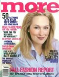 Meryl Streep on the cover of More (United States) - September 1999
