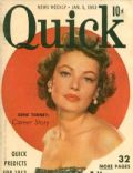 on the cover of Quick (United States) - January 1953