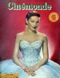 Gene Tierney on the cover of Cinemonde (France) - July 1952