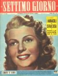 Settimo Giorno Magazine [Italy] (2 October 1953)