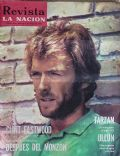 Clint Eastwood on the cover of La Nacion (Argentina) - January 1972