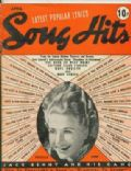 Priscilla Lane on the cover of Song Hits (United States) - April 1939