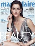 Hilary Rhoda on the cover of Marie Claire (Mexico) - April 2014