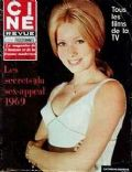 Catherine Deneuve on the cover of Cine Revue (France) - March 1969