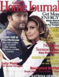 Faith Hill, Faith Hill and Tim McGraw, Tim McGraw on the cover of Ladies Home Journal (United States) - August 2006
