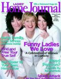 Ellen DeGeneres, Katey Segal, Megan Mullally on the cover of Ladies Home Journal (United States) - March 2004