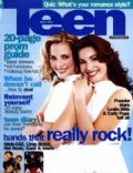 Carly Pope, Leslie Bibb on the cover of Teen (United States) - March 2000