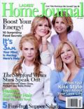 Bette Midler, Faith Hill, Glenn Close, Nicole Kidman on the cover of Ladies Home Journal (United States) - July 2004