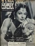 Hedy Lamarr on the cover of Radio Cinema Television (France) - September 1951