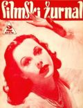 Hedy Lamarr on the cover of Filmski Zurnal (Yugoslavia Serbia and Montenegro) - September 1940