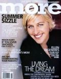 Ellen DeGeneres on the cover of More (United States) - June 2004
