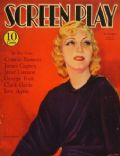 Karen Morley on the cover of Screen Play (United States) - February 1933