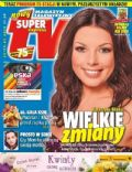 Katarzyna Glinka on the cover of Super Express TV (Poland) - May 2011