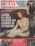 Andrea Del Boca on the cover of Caras (Argentina) - March 1995