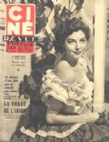 Ava Gardner on the cover of Cine Revue (France) - May 1952