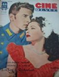 Yvonne De Carlo on the cover of Cine Revue (France) - December 1947