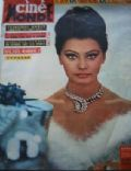 Sophia Loren on the cover of Cinemonde (France) - February 1964
