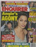 Angelina Jolie on the cover of National Enquirer (United States) - March 2011